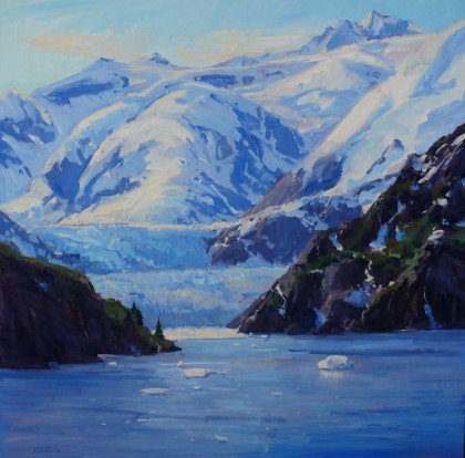Frozen Frontier 36x36